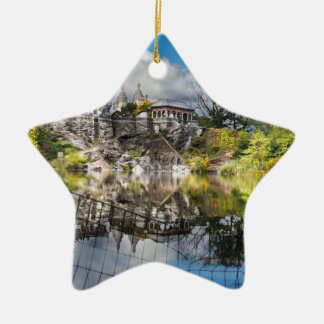 Castle Ceramic Ornament