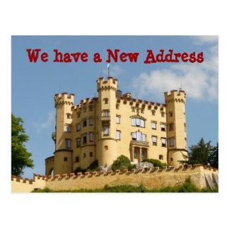 Castle Change of Address We Moved Postcards