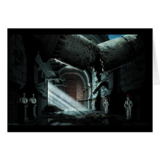 Castle Corridor Card