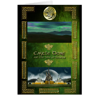 Castle Dore and the Vale of Lyonesse Card