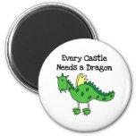 Castle Dragon Magnet
