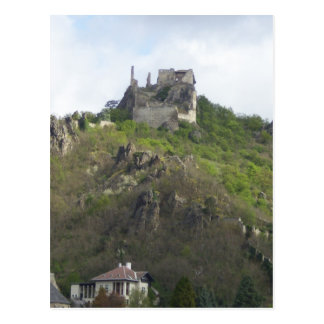 Castle Durnstein Germany Postcard