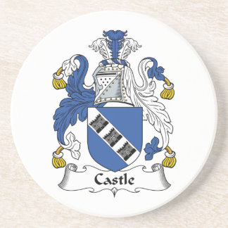 Castle Family Crest Coaster