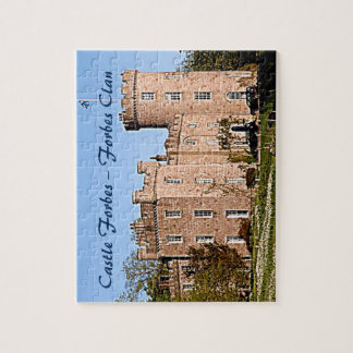 Castle Forbes – Forbes Clan Jigsaw Puzzle