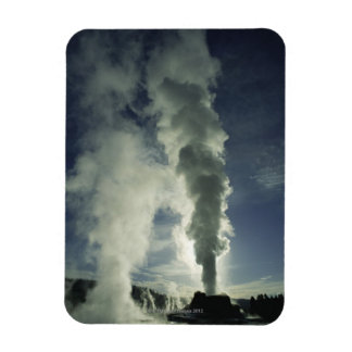 Castle Geyser ,Yellowstone National Park Rectangular Photo Magnet