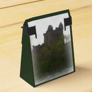 Castle Gift Bag Favor Box