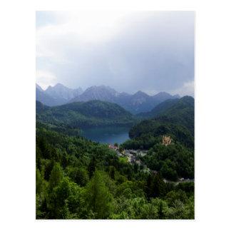 Castle Herren Chiemsee Bavaria Postcard