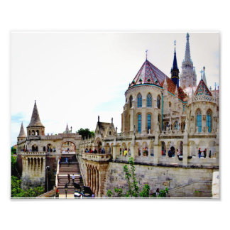 Castle Hill Budapest Photo Print
