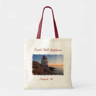 Castle Hill Lighthouse, Newport RI Budget Tote Bag