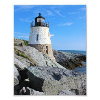 Castle Hill Lighthouse, Rhode Island Photo Print