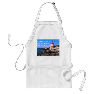 Castle Hill Lighthouse, Rhode Island Standard Apron