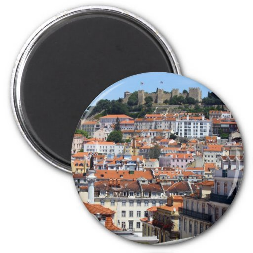 Castle Hill, Lisbon, Portugal Magnet