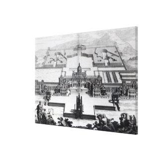 Castle Howard, from 'Vitruvius Britannicus' Stretched Canvas Prints