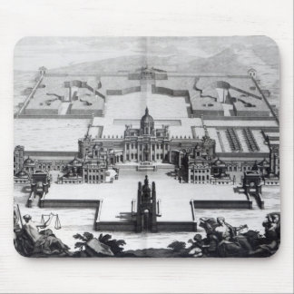 Castle Howard, from 'Vitruvius Britannicus' Mouse Pad