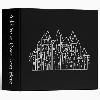 Castle in Black and White. Binders