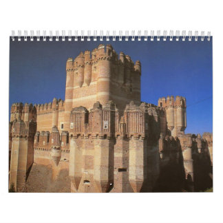 Castle in Europe and Japan Calendars