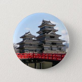 Castle in Japan 2 Inch Round Button