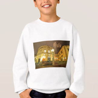 Castle in Oslo, Norway at night Sweatshirt