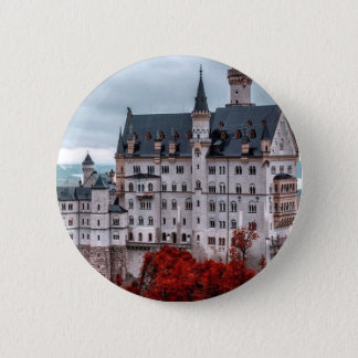 Castle in the Fall 2 Inch Round Button