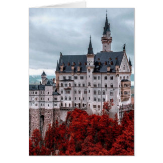 Castle in the Fall Card