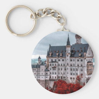 Castle in the Fall Keychain