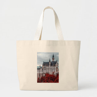 Castle in the Fall Large Tote Bag