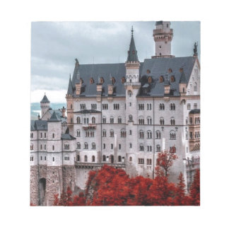 Castle in the Fall Notepad