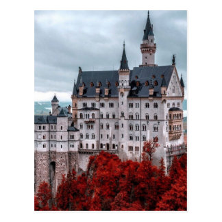 Castle in the Fall Postcard