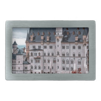 Castle in the Fall Rectangular Belt Buckles
