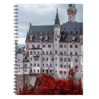 Castle in the Fall Spiral Notebook