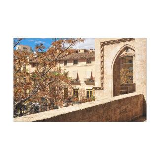 Castle in Valencia, Spain Canvas Print