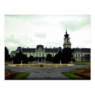 Castle Keszthely , Hungary Postcard