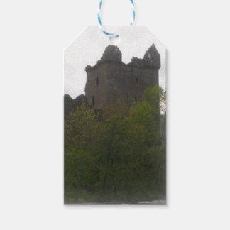 Castle Luggage Tag