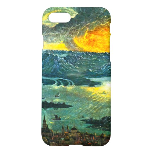 Castle Mountains and Sunset - Albrecht Altdorf iPhone 7 Case