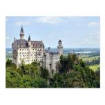 Castle Neuschwanstein Bavaria Germany Postcard