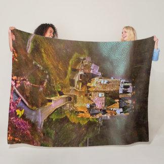 Castle of Elz, Germany Acrylic Art Fleece Blanket