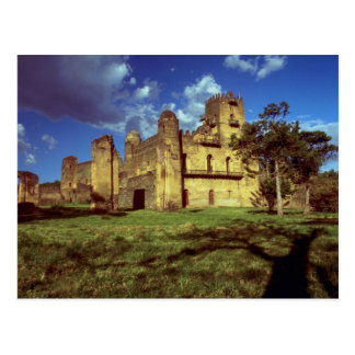Castle of Emperor Fasiladas at Gondar, Ethiopia, A Postcard