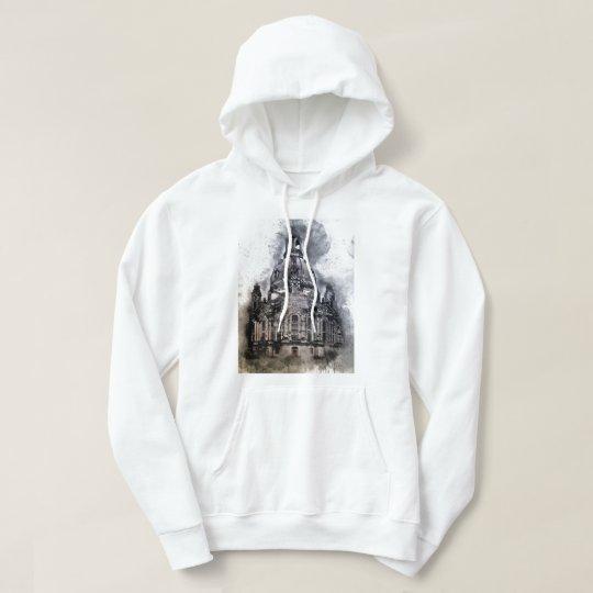 castle of germany art hoodie