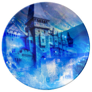 Castle of Glass Porcelain Plates
