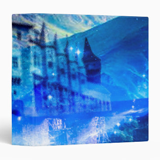 Castle of Glass Vinyl Binder