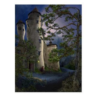 Castle of insane - Waiting - Card Postcard