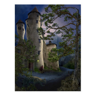 Castle of insane - Waiting - Card Postcards