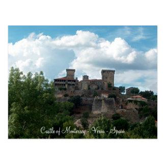 Castle of Monterrey  - postcard