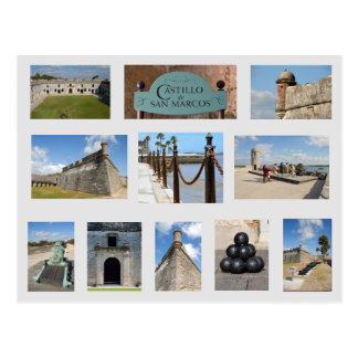 Castle of San Marcos Postcard St. Augustine, Fl.