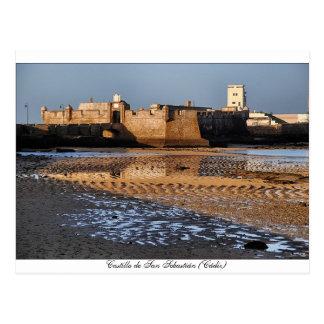 Castle of San Sebastian (Cadiz) Postcard