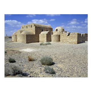 Castle of the Desert, Quasr El Amra, Jordan Desert Postcard