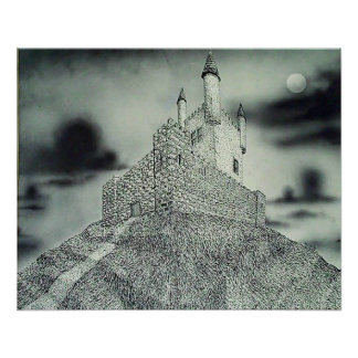 Castle on a Hill Poster