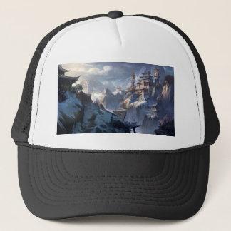 Castle On The Mountain Trucker Hat