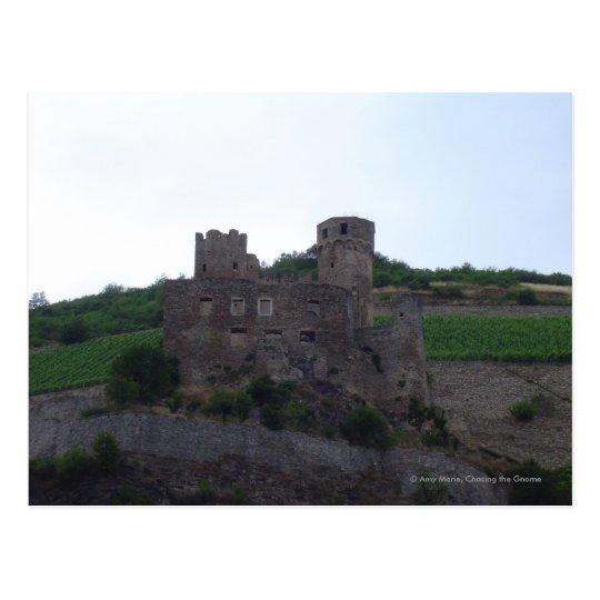 Castle on the Rhine Postcard