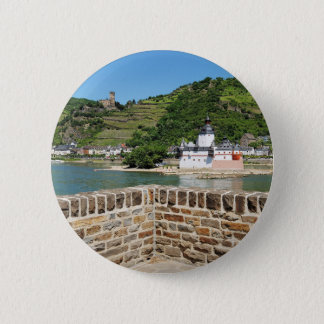 Castle Palatinat count stone with Kaub 2 Inch Round Button